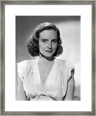 Terest Wright, Ca. 1940s Framed Print