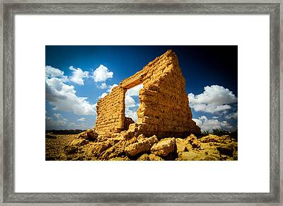 Terlingua Framed Print by Chris Multop