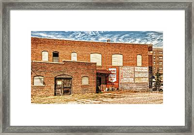 Framed Print featuring the photograph Terminal Drug Store by Jim Moore