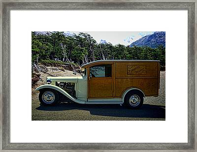 Termite Delight C1930 Ford Truck Framed Print by Tim McCullough