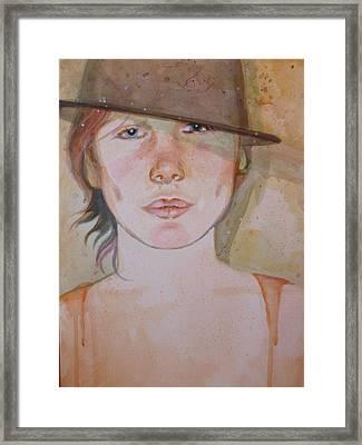Terra Framed Print by Elaine Bawden