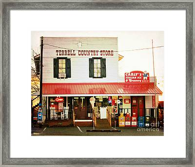 Terrell North Carolina Framed Print by Kim Fearheiley