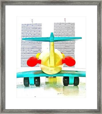Terror Framed Print by Ricky Sencion