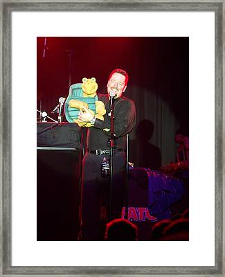 Terry Fator Framed Print by Kenneth Dow