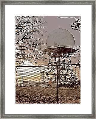 Tetedusk Framed Print by Tobeimean Peter