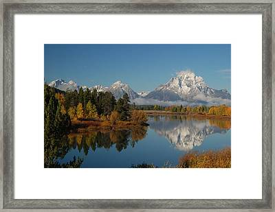 Teton Autumn Framed Print by Craig Ratcliffe