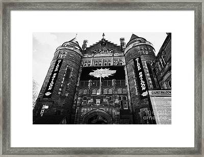 Teviot Row House Students Union For The University Of Edinburgh Framed Print