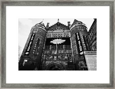 Teviot Row House Students Union For The University Of Edinburgh Framed Print by Joe Fox