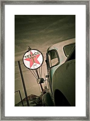 Texaco Framed Print by Merrick Imagery
