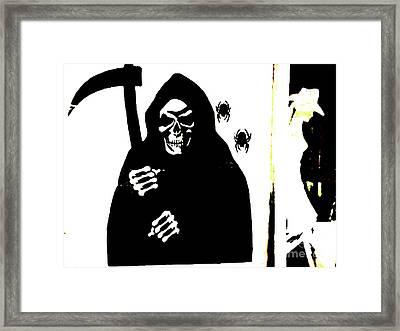 Texas Blind Date Massacre Framed Print