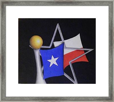 Texas Framed Print by Jose Benavides
