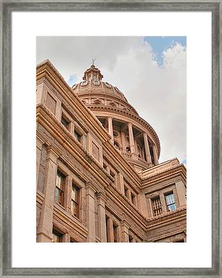 Texas State Capitol Building In Austin IIi Framed Print by Sarah Broadmeadow-Thomas