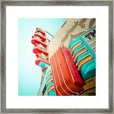 Texas Theater Framed Print by David Waldo