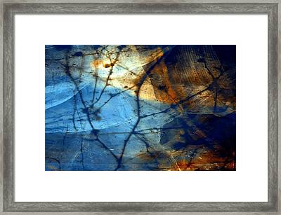 Texture 7 Framed Print by Joseph Ferguson