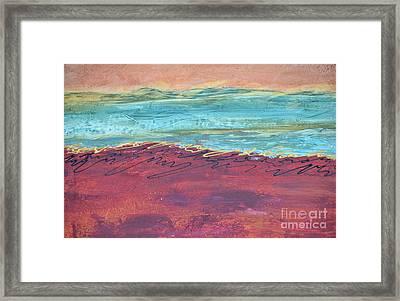 Textured Landscape 2 Framed Print