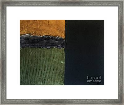 Textures Four L Framed Print