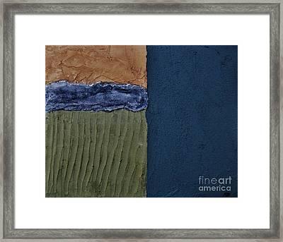 Textures Four Ll Framed Print by Marsha Heiken