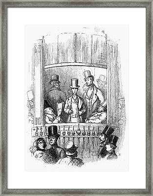 Thackeray: Newcomes, 1855 Framed Print by Granger