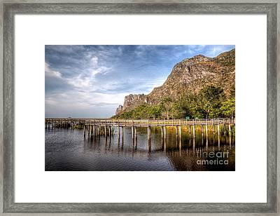 Thai Park Framed Print