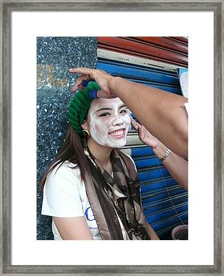 Thai Smile Framed Print by Gregory Smith