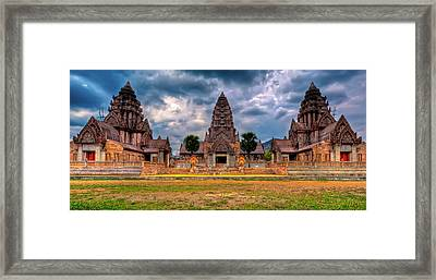 Thai Temple Framed Print by Adrian Evans