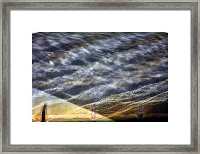 Thames Reflections Framed Print