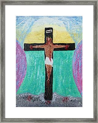 Thank God For Good Friday Nineteen Ninety Nine Framed Print by Carl Deaville