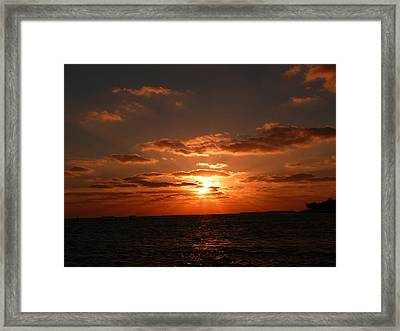 Framed Print featuring the photograph Thank You Lord by Jo Sheehan