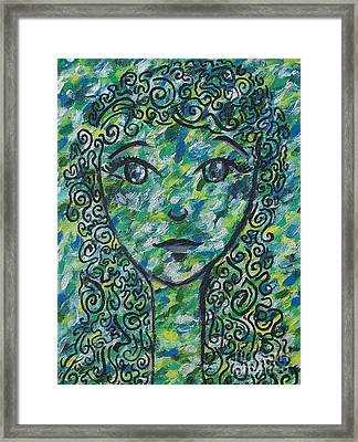 Thank You Mother Nature Framed Print by Evolve And Express