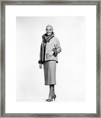 That Certain Feeling, Eva Marie Saint Framed Print by Everett