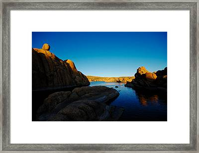 That Magic Moment Framed Print by Zee Helmick