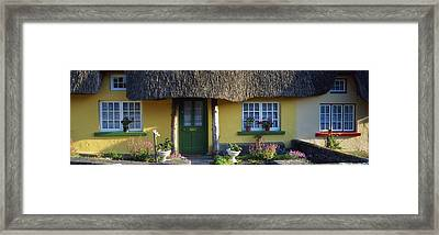 Thatched Cottage, Adare, Co Limerick Framed Print by The Irish Image Collection