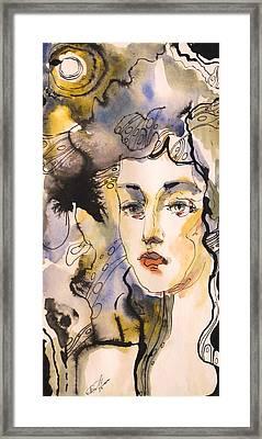 That's Her Framed Print by Valentina Plishchina