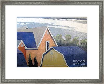 The 10th Of October Nine Ten Am Framed Print by Charlie Spear