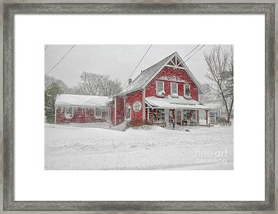 The 1856 Country Store On Main Street In Centerville On Cape Cod Framed Print