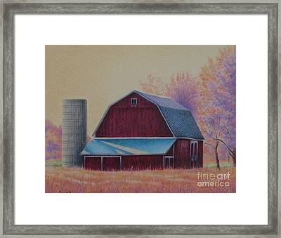 The 1918 Barn Framed Print