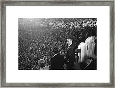 The 1965 Inaugural Ball. L-r Muriel Framed Print by Everett