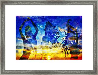 The 3 Muses 1 Framed Print