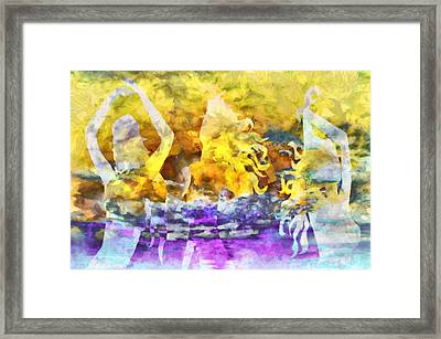 The 3 Muses 2 Framed Print