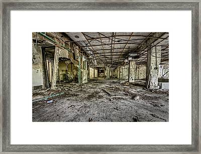 The Abandoned Building Framed Print by Noah Katz