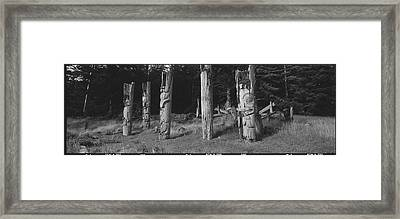 The Abandoned Villages Of The Seagoing Framed Print by Barry Tessman