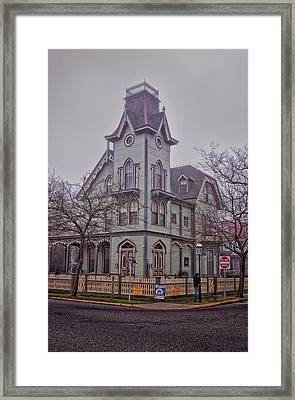 The Abbey Cape May Framed Print