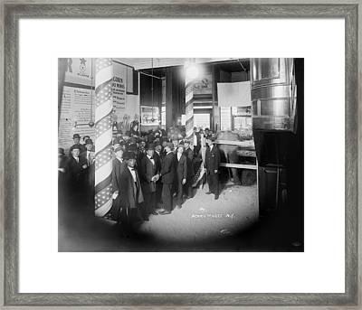 The Acorn Wax Museum, New York Framed Print by Everett