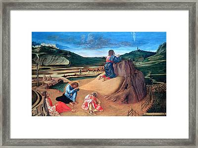 'the Agony In The Garden' Painting Framed Print by Photos.com