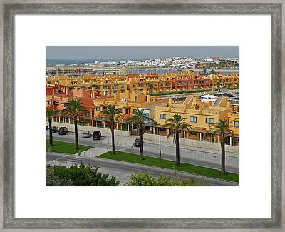 The Algarve In Portugal Framed Print by Kirsten Giving
