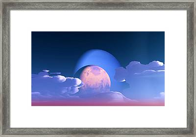 Framed Print featuring the digital art The Alignment... by Tim Fillingim