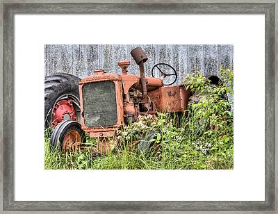The Allis Chalmers Framed Print by JC Findley