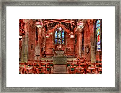 The Altar Framed Print