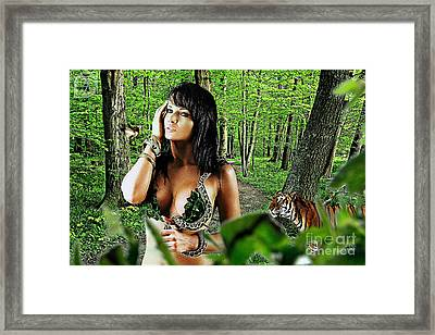 The Amazon Framed Print