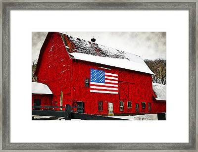 The American Dream Framed Print by Bill Cannon